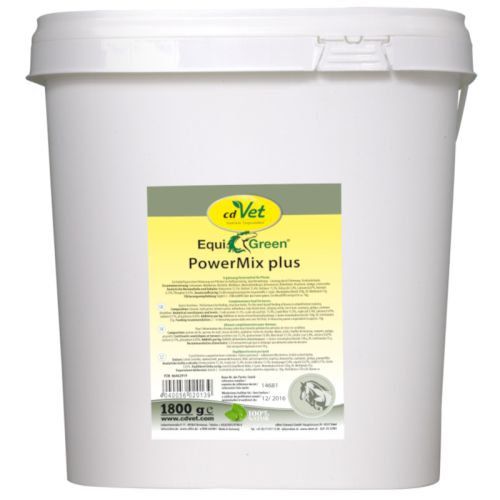 cdvet equigreen power mix plus 1800g