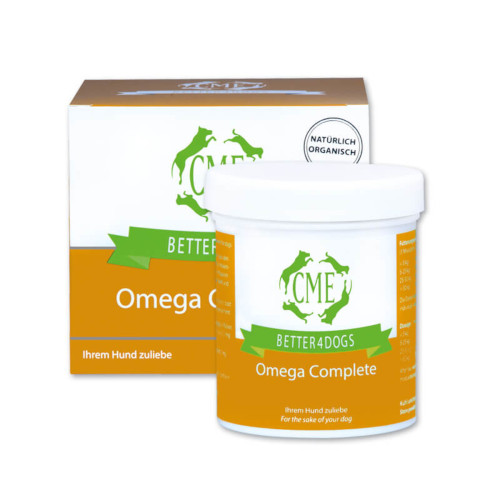 cme better4dogs omega complete dose
