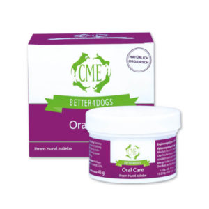 cme better4dogs oral care dose 45g