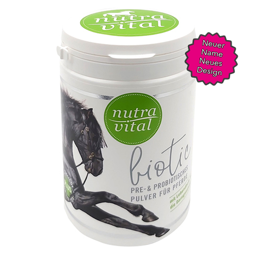 nutrapet nutravital biotic Equine equisio online shop