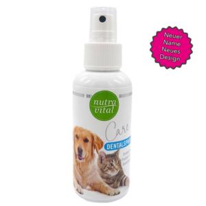 nutrapet nutravital dentalspray hund katze equisio online shop