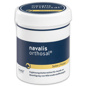 navalis orthosal dog selen dose pulver equisio shop