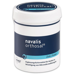 navalis orthosal dog zink dose pulver equisio shop